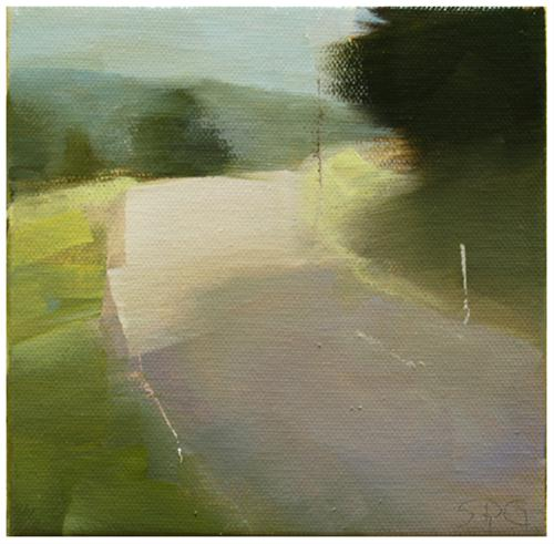 """Road Challenge"" original fine art by Steven Goodman"