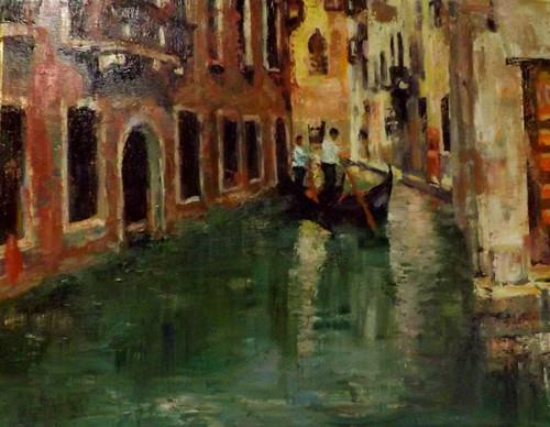 """VENICE 1"" original fine art by Run-      Zhang Zane"