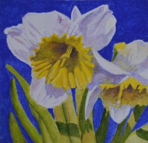 """Spring has sprung!"" original fine art by Robert Frankis"