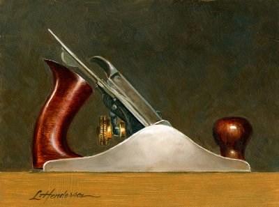 """Plane"" original fine art by Lael Henderson"
