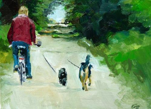 """ride"" original fine art by Claudia Brandt"