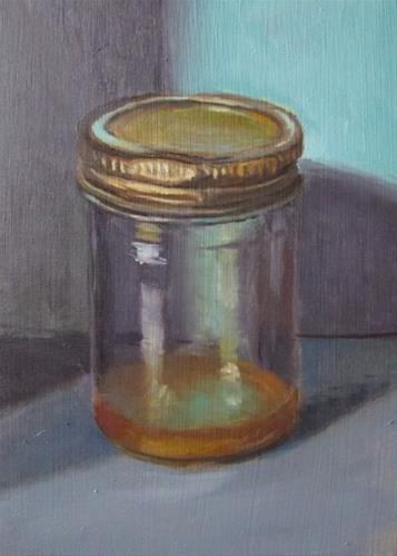 """32 - Medium Jar"" original fine art by Ed Watson"
