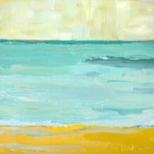 """The Horizon"" original fine art by Janet Bludau"