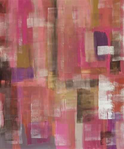 """New Pink Accent"" original fine art by Angele Sage"