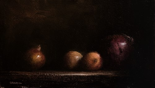 """Onions"" original fine art by Neil Carroll"