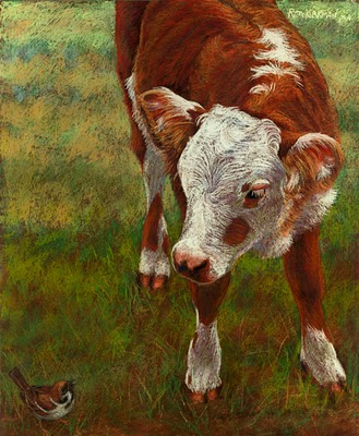"""Conversation"" original fine art by Rita Kirkman"