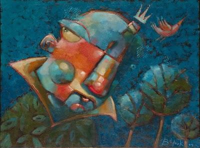 """Sweet Talkin' Ladies Man"" original fine art by Brenda York"