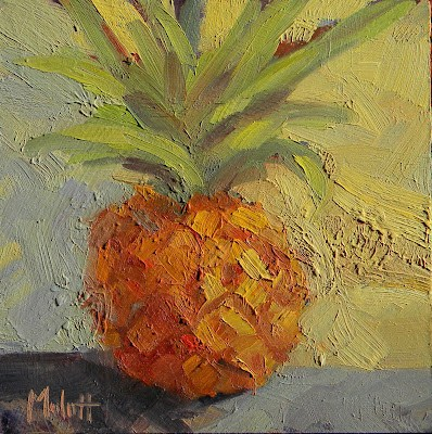 """Baby Pineapple Archive Special on Blog"" original fine art by Heidi Malott"