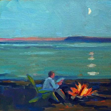 """""""Girls Just Wanna Paint"""" original fine art by Mary Sheehan Winn"""