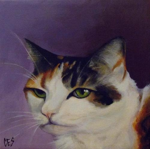 """Commissioned Pet Portrait: Ballet"" original fine art by ~ces~ Christine E. S. Code"