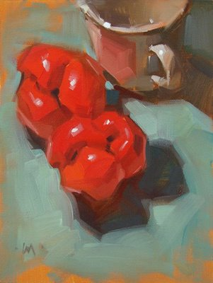 """Bell Bottoms --- SOLD"" original fine art by Carol Marine"