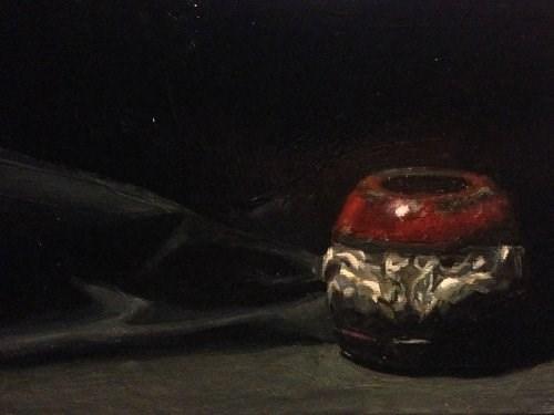 """Elephant Trinket Session 3"" original fine art by Chris Beaven"