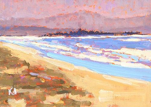 """""""Coronado Plein Air"""" original fine art by Kevin Inman"""