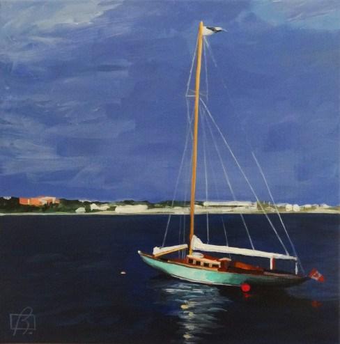"""""""Halifax"""" original fine art by Andre Beaulieu"""