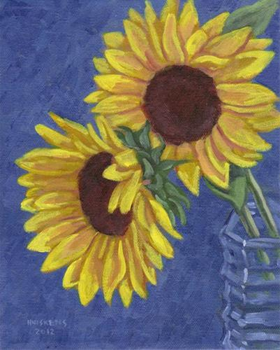 """Sunflowers No. 6"" original fine art by Randal Huiskens"
