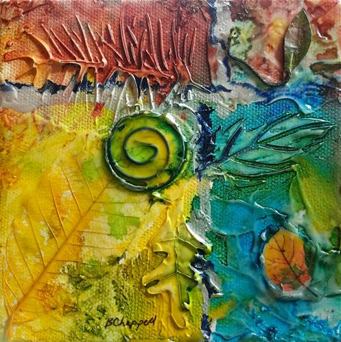 """Nature Textures"" original fine art by Becky Chappell"