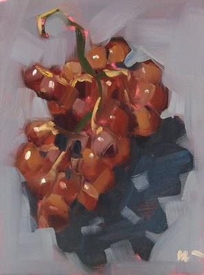 """Greco --- SOLD"" original fine art by Carol Marine"
