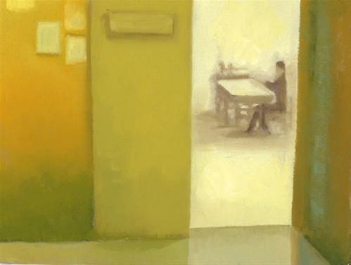 """The Dream - Classroom"" original fine art by Nancy Herman"