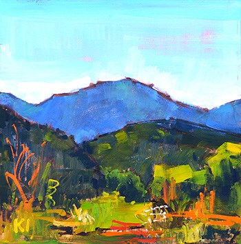 """Another Temecula Landscape"" original fine art by Kevin Inman"