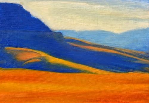 """Start of the Canyon"" original fine art by Carolyn Caldwell"