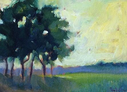 """""""Summer Light"""" original fine art by Pamela Munger"""
