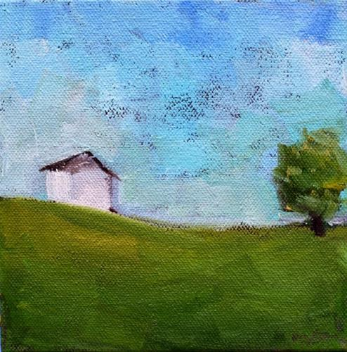 """Simplify, Simplify"" original fine art by Maggie Flatley"