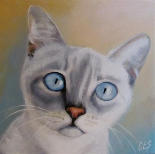"""What Do You Mean I Can't Go Outside?"" original fine art by ~ces~ Christine E. S. Code"