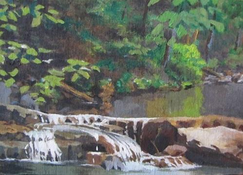 """30 - Dogwood Canyon Study"" original fine art by Ed Watson"