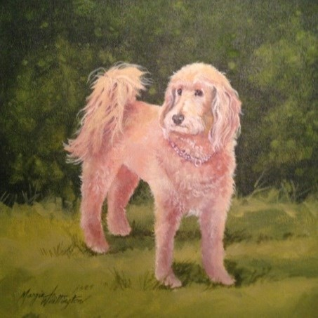 """Charlie"" original fine art by Margie Whittington"