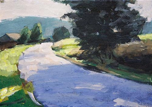 """Germany22"" original fine art by J. Farnsworth"