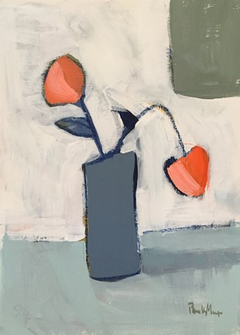 """Grey Vase"" original fine art by Pamela Munger"