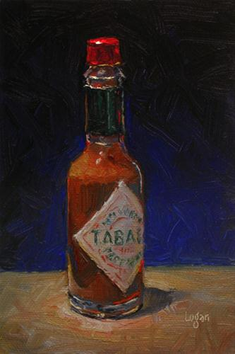 """The Imp's Tabasco"" original fine art by Raymond Logan"