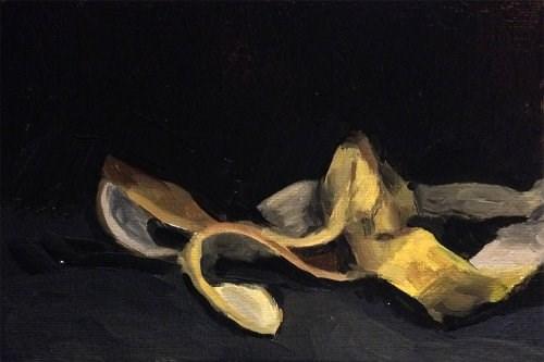 """Banana Peel"" original fine art by Chris Beaven"