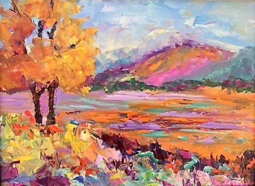 """Colorado Color"" original fine art by Liz Zornes"