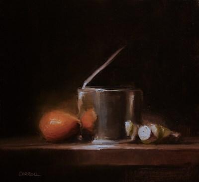 """""""Tin Can"""" original fine art by Neil Carroll"""