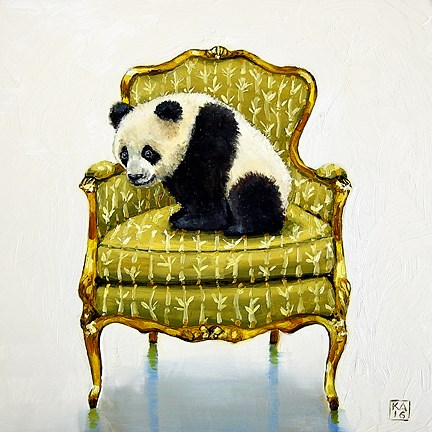 """bamboo"" original fine art by Kimberly Applegate"