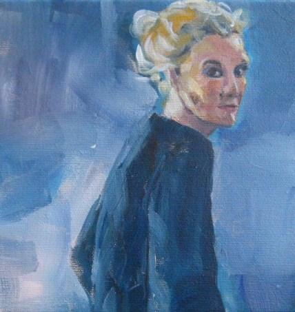 """""""Donna"""" original fine art by Sabine Hüning"""