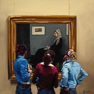 """Mother Superior"" original fine art by Karin Jurick"