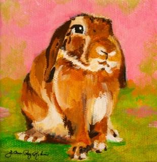 """""""Spring Mascot"""" original fine art by JoAnne Perez Robinson"""