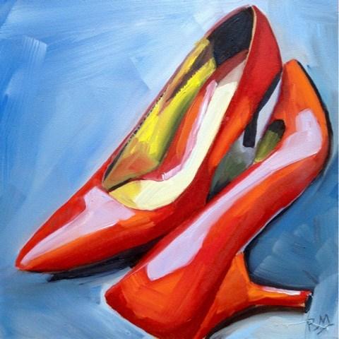 """DESI(RED)"" original fine art by Piya Samant"