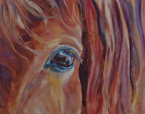 """Trust"" original fine art by Carol DeMumbrum"