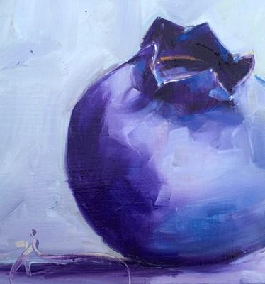 """""""Blueberry"""" original fine art by Gigi ."""