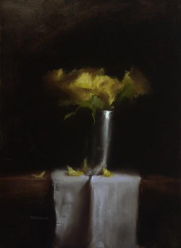 """""""Roses Still Life"""" original fine art by Neil Carroll"""