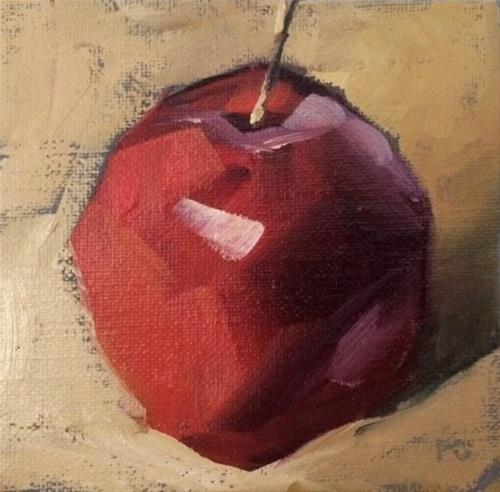"""Apple Study"" original fine art by Philla Barkhorn"
