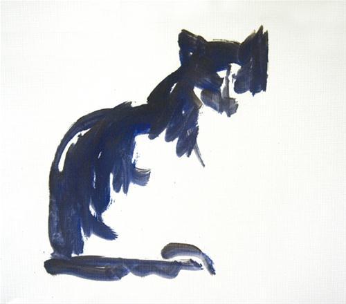 """""""Cookie Oil Sketch"""" original fine art by Sharon Savitz"""