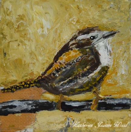 """Bird Series No 2"" original fine art by Katie Jeanne Wood"