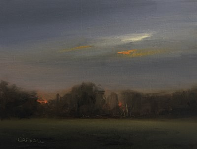 """""""Summer Twilight"""" original fine art by Neil Carroll"""