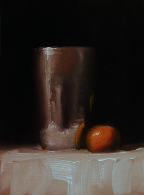"""Silver Cup - study"" original fine art by Neil Carroll"