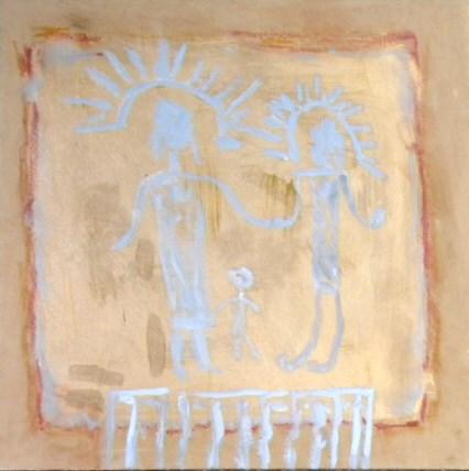 """The Family 1a"" original fine art by Carol Roddenberry"