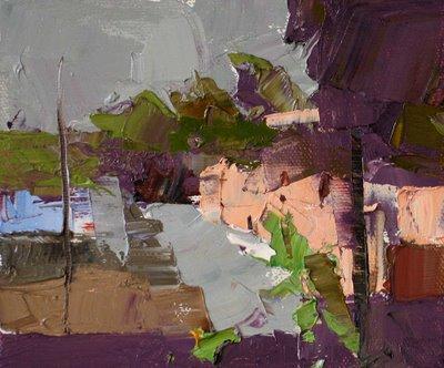 """Ajijic Impression --- Sold"" original fine art by Qiang Huang"